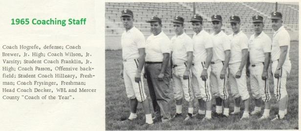 1966 Celina Sr High school FB coaches