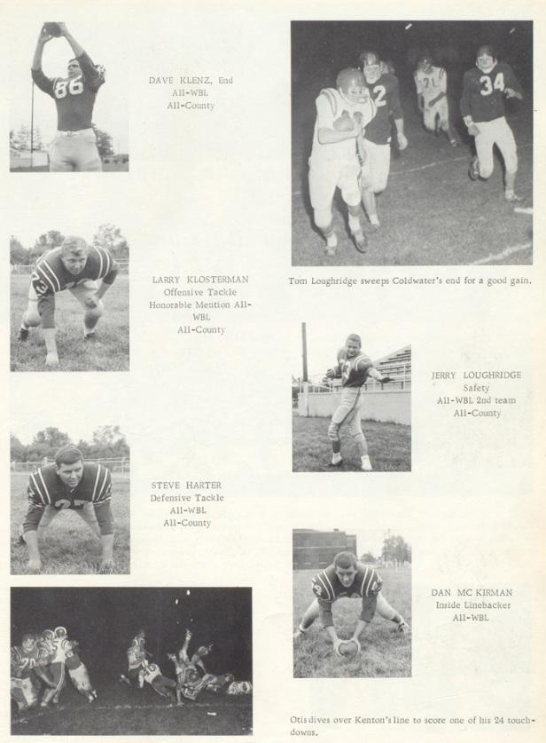 1966 Celina Sr High school FB players 2