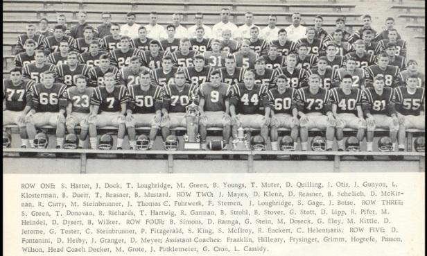 1966 Celina Sr High school FB