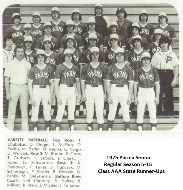 1975 AAA Parma BB team