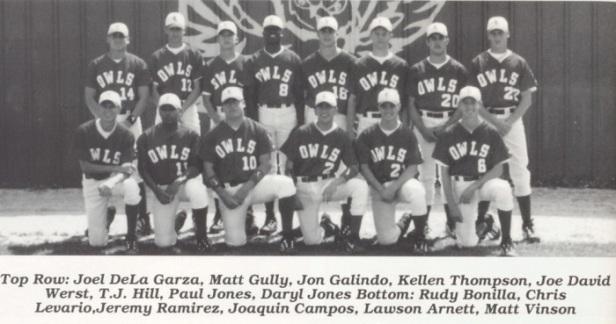 1999 Reagan County Baseball