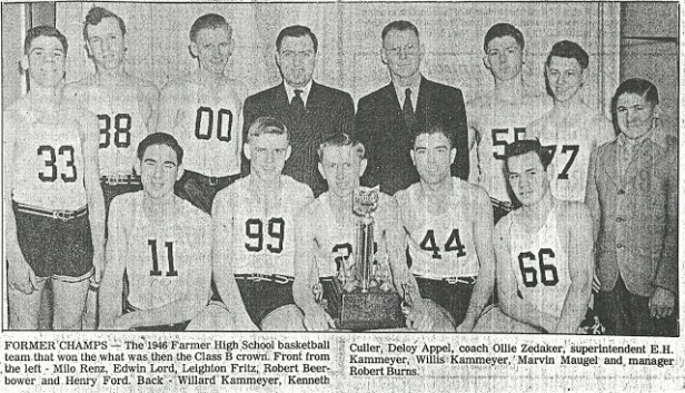 1946 Farmer State Finals team pic
