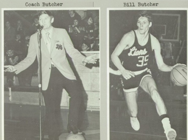 Coach Jack Butcher and Bill Butcher