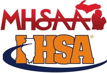 MHSAA and IHSA