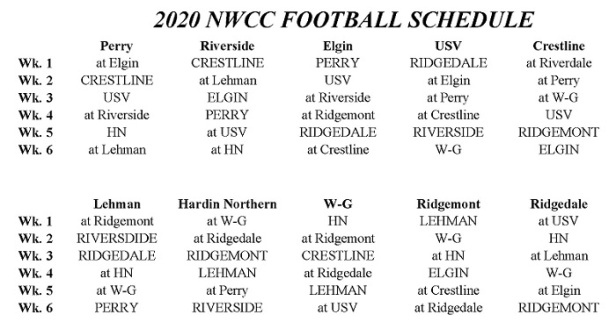NWCC FB sched